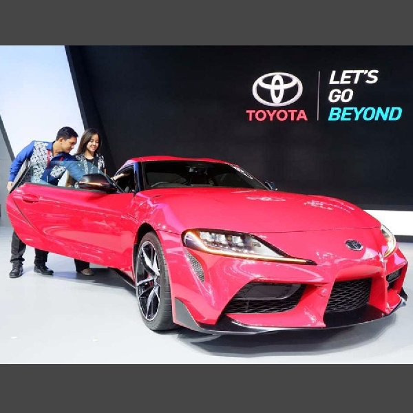 Toyota GR Supra, Hiace, dan New Fortuner TRD Sportivo Resmi Meluncur Di GIIAS 2019