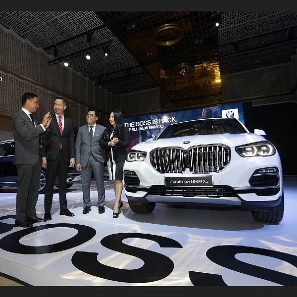 All-New BMW X5 Siap Dibeli Para Bos Indonesia