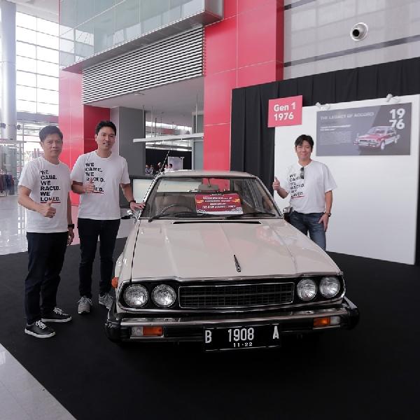 Honda Beri Apresiasi Kepada Pemilik Honda Accord Dan Civic Generasi Pertama