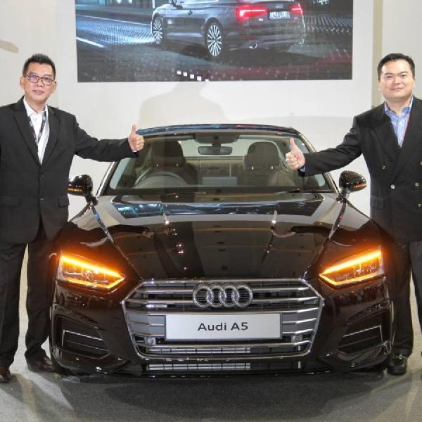Audi A5 Coupe Meluncur di IIMS 2017