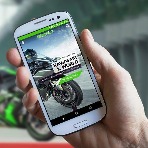 Kawasaki Bikin Program Aplikasi K-World