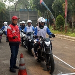 Wahana Honda Beri Edukasi Safety Riding Gas di Awal Tahun