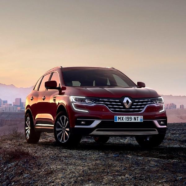 Kini Renault Bikin Koleos Lebih Canggih Dan Mewah