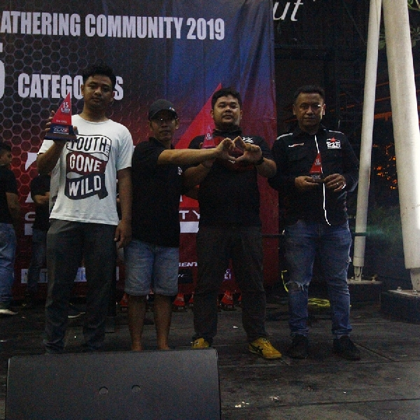 Honda Accord 2008 BCC Bogor Sabet First King   Nomine di BlackZone AutoFest 2019