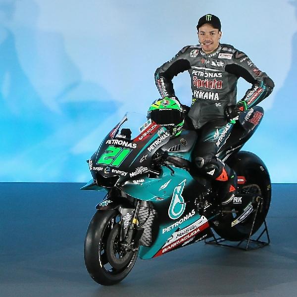 MotoGP: Franco Dengan Senang Hati Meminjamkan Lewis Motor Balapnya