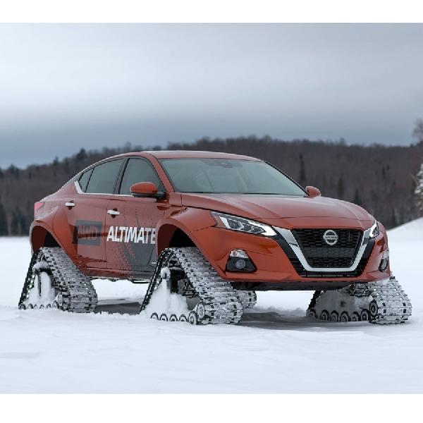 Nissan Bikin Altima-te AWD Dengan Roda Tank
