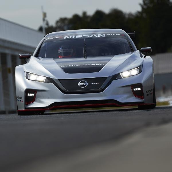 Nissan Luncurkan Mobil Balap Listrik All-New Leaf Nismo RC