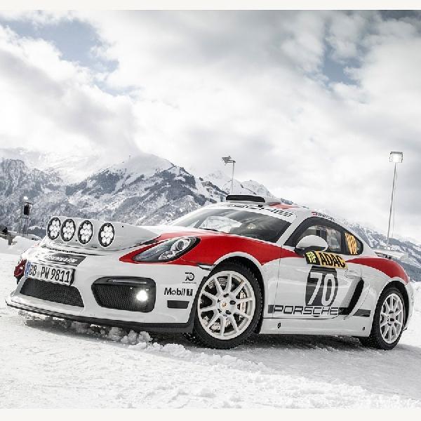 Porsche Ikutan Rally Dengan Cayman GT4 Rallye Concept