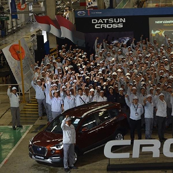 Datsun Cross Mulai Diproduksi di Purwakarta