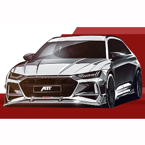 ABT RS6-R Mungkin Jadi Sedan Estate Terkuat