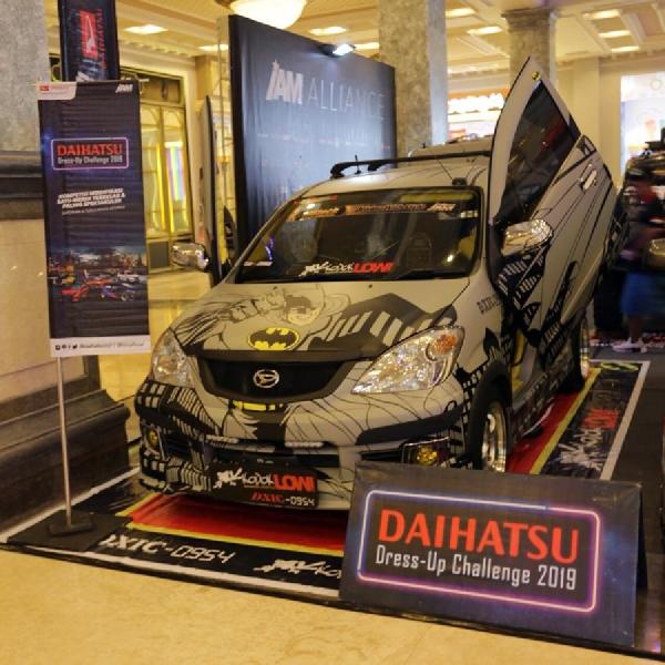 Kontes Modif Daihatsu Meriahkan Kota Yogja