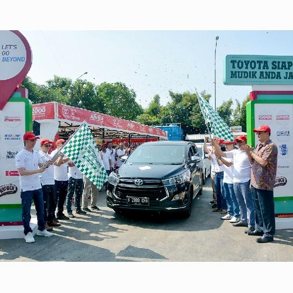 Toyota Hadirkan 316 Titik Pelayanan Mudik