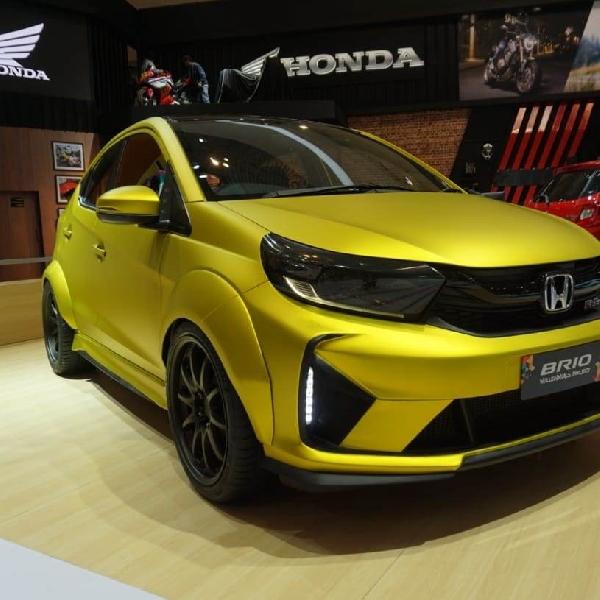 Honda Tampilkan Brio Dan HR-V Modifikasi Kepada Publik