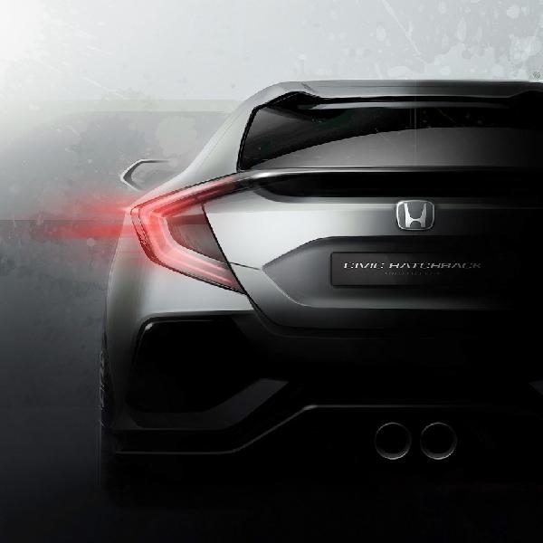 Honda Civic Hatchback Prototipe Siap Ramaikan Geneva Motor Show