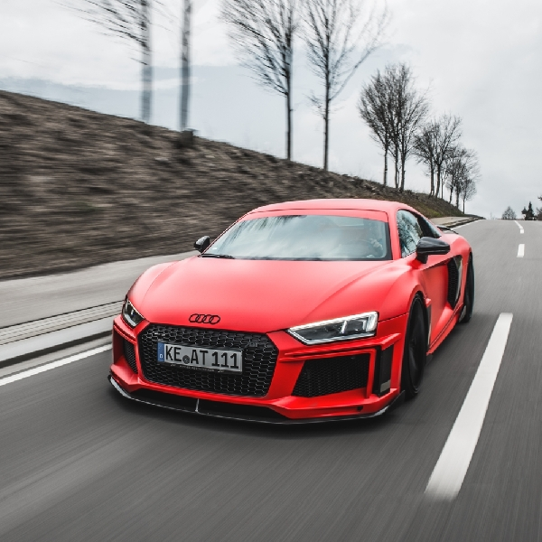 Modifikasi Super Buat Audi R8 Dari ABT