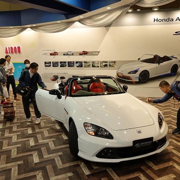 Melihat Mobil Lintas Generasi Honda di Tokyo Auto Saloon