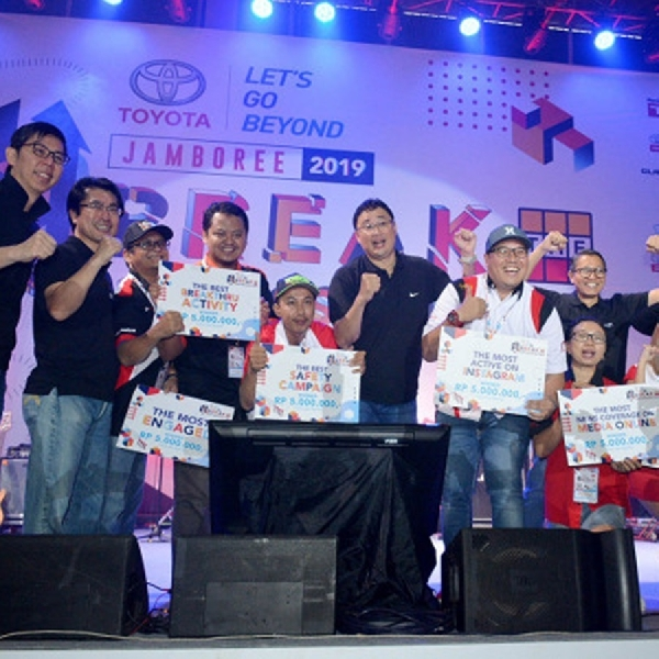 Toyota Jamboree 2019, Tanamkan Nilai Start Your Impossible