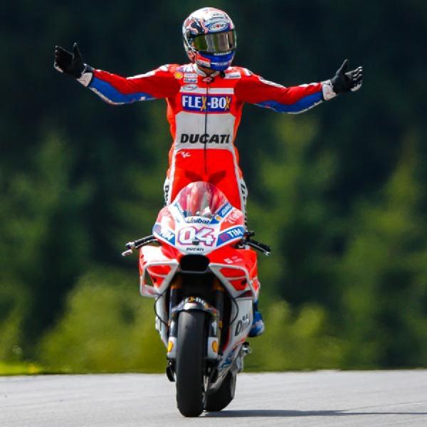 Andrea Dovizioso Rebut Posisi Pertama pada Czech Grand Prix