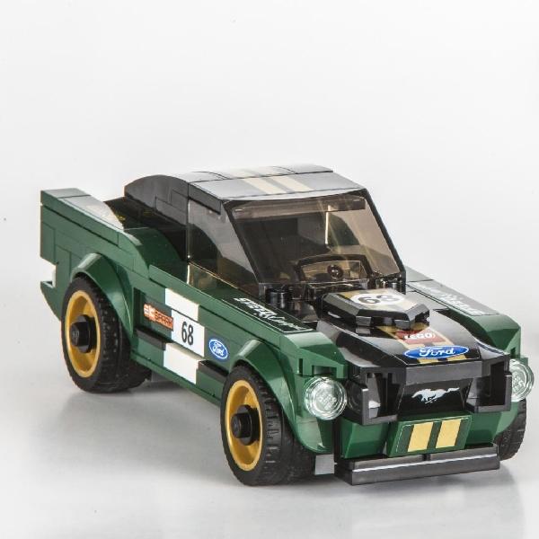 Ford Mustang Fastback Bikinan Lego Ini Siap Diburu