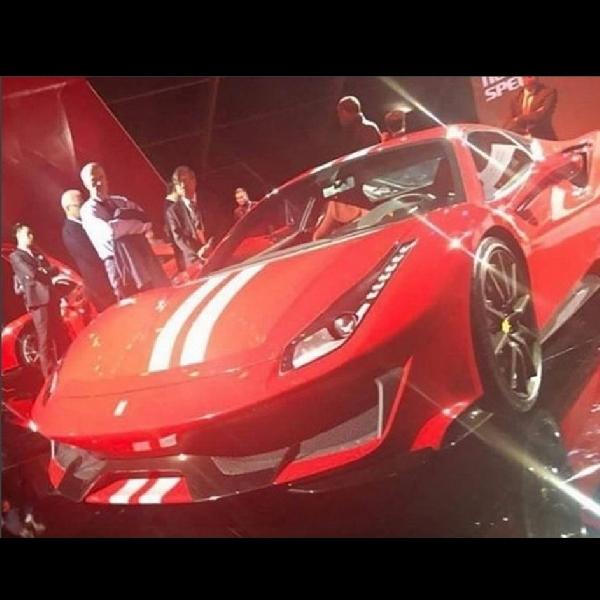 Beginilah Bocoran Foto Ferrari 488 GTO Terbaru
