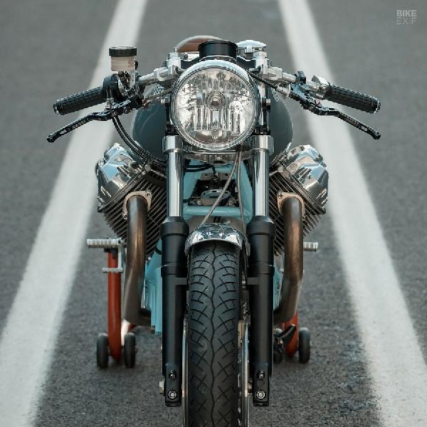Intip Kustom Keren Moto Guzzi Le Mans MK1
