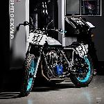 Manjakan Mata Lihat Yamaha SR500 Kreasi Hurco