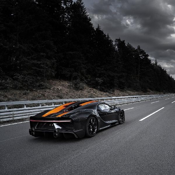 Modifikasi Aerodinamika dan Ban Khusus Michelin Antarkan Bugatti  Chiron Tercepat di Dunia