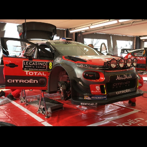 Citroen C3 Terapkan Pola Defensive Sejak Start di WRC Monte Carlo