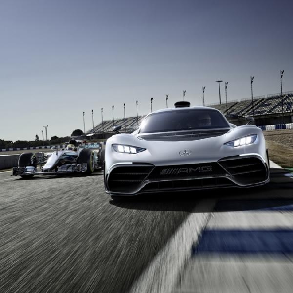 Mercedes-AMG Project ONE, Pakai Langsung Mesin F1