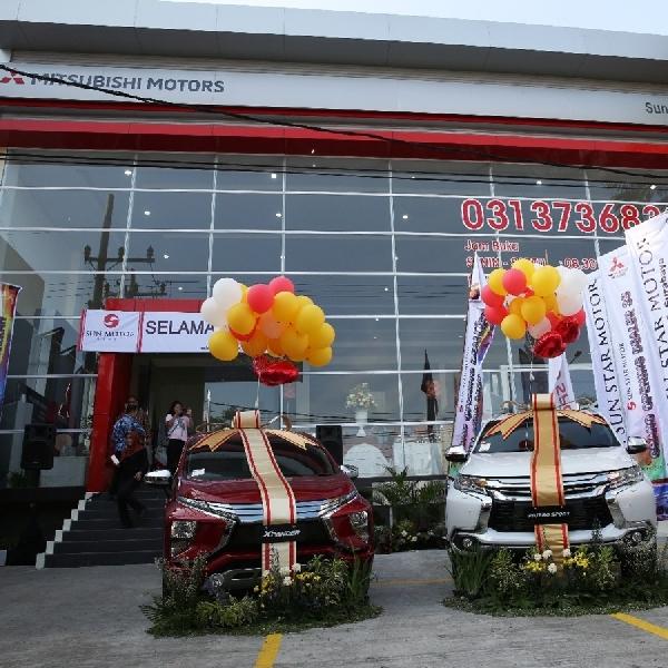 Mitsubishi Resmikan Diler Kendaraan Penumpang ke-116 di Indonesia
