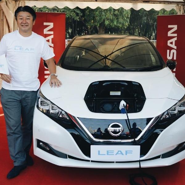 Nissan Percepat Kehadiran Mobil Listrik di Indonesia