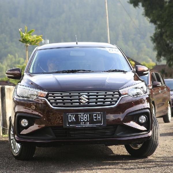 Inilah Hasil Uji Kemampuan Suzuki All New Ertiga di Bali!