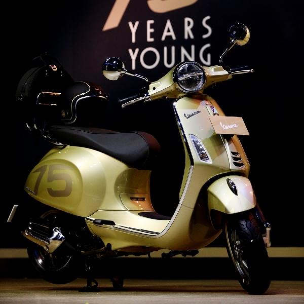 Anniversary ke-75 Tahun, Vespa Makin Mewah dalam Balutan Warna Kuning Metalik Giallo