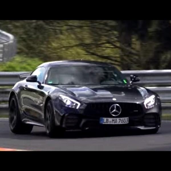 Tanpa Kamuflase, Mercedes-AMG GT Black Series 2018 Tertangkap Basah