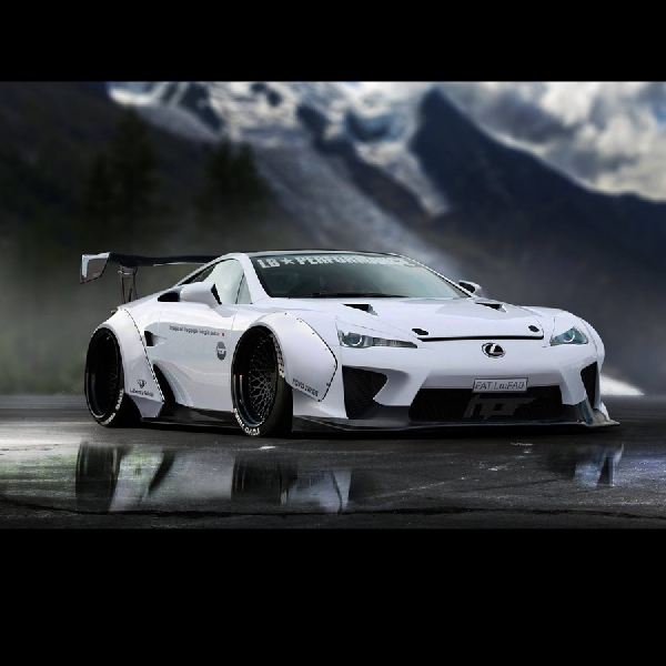 Virtual Lexus LFA Liberty Walk