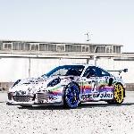 Porsche 911 GT3 RS Le Mans Berlivery Apple Computer