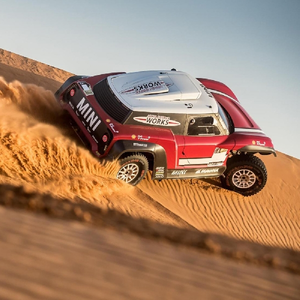 Mini JCW Buggy Bakal Turun Rally Dakar