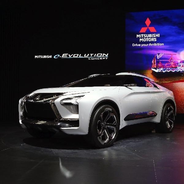 Konsep Mitsubishi e-Evolution Tampil Memukau Pengunjung