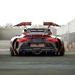 WFH Bagi YasidDesign Menghasilkan Rendering Aerodinamika Toyota Supra Mk5