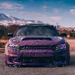 Keanggunan Dodge Charger Hellcat, Grafis Purple Disokong Widebody Curi Perhatian