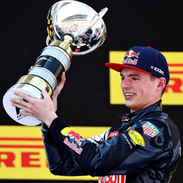 F1: Naik Podium Pertama, Max Verstappen Ukir Rekor Juara Termuda F1
