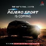 Sebentar Lagi, New Pajero Sport Meluncur di Indonesia