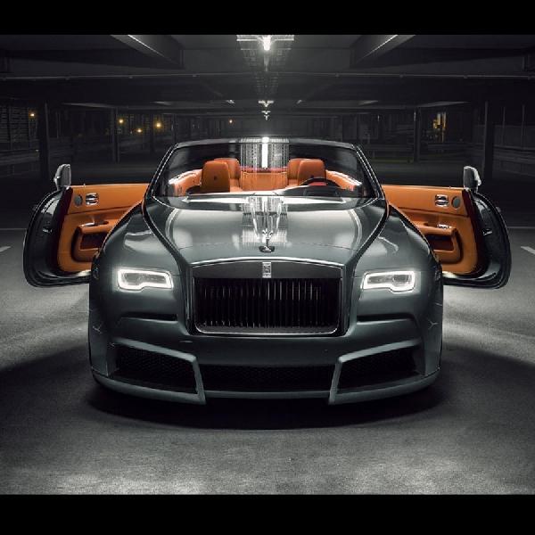 Novitec Spofec Versi Perkasa Dari Rolls Royce Dawn