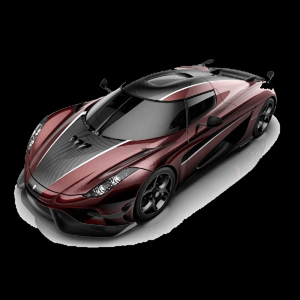 Koenigsegg Electrification Red Carbon