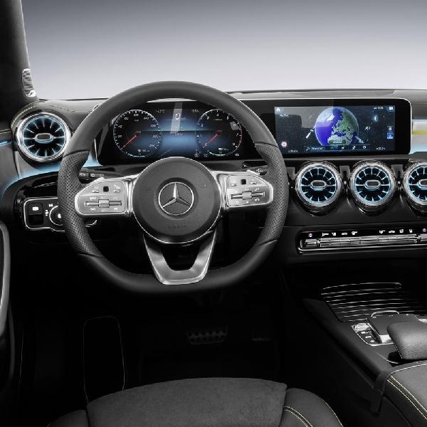 Mercedes Ungkap Bentuk Kabin A-Class Terbaru