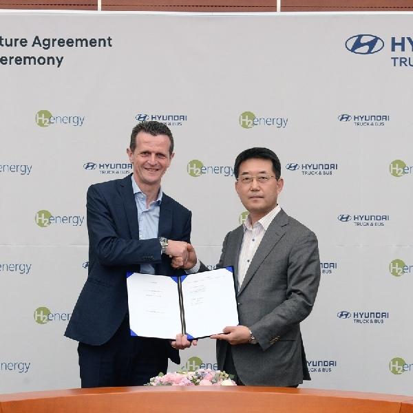 Hyundai dan H2 Energy Kerjasama Pelopori Kendaraan Komersil Hidrogen di Eropa