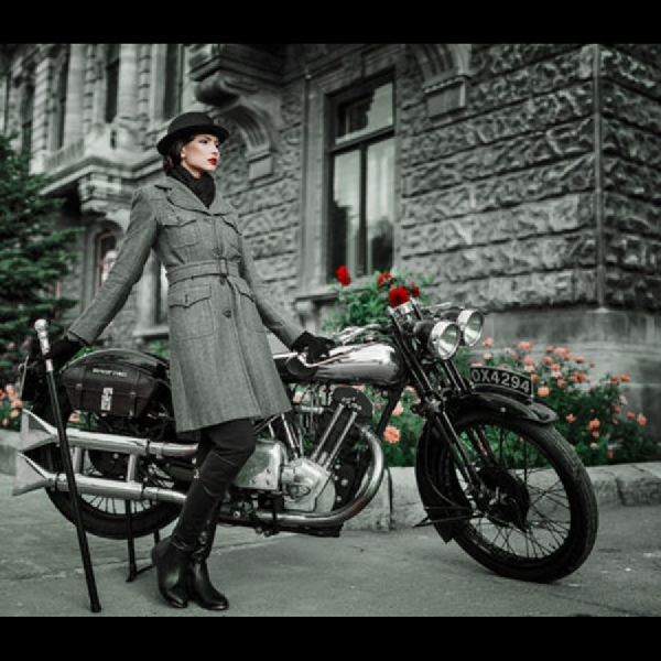 Brough Superior SS 100, Terpajang Orisinal di Motorworld Rusia