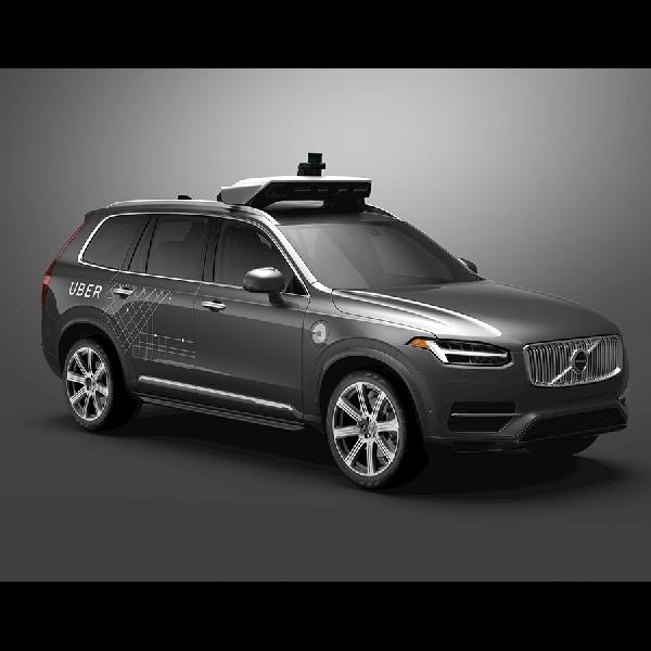 Volvo dan Uber Kembangkan Mobil Otonom