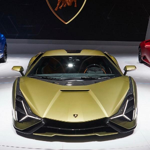 Dengan 'Bodywork Autonomous', Lamborghini Sian FKP 37 Mampu Dinginkan Mesin V12