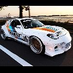 Mazda RX-7 Modifikasi Unik Memadukan Wagon, Rocket  Bunny Ala Porsche 962C